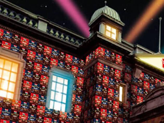"""渋谷に""""お菓子の城""""が出現『Loacker Night』"""