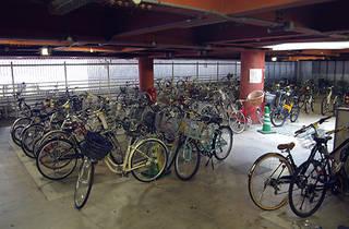 恵比寿駅東口自転車駐車場