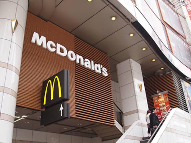 マクドナルド 渋谷東映プラザ店