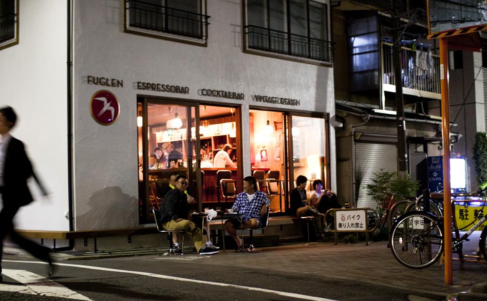 渋谷のノルウェーでくつろぐ。