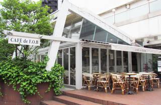 【閉店】CAFE de F.O.B at Laforet Harajuku