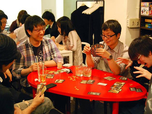 ボードゲームカフェ