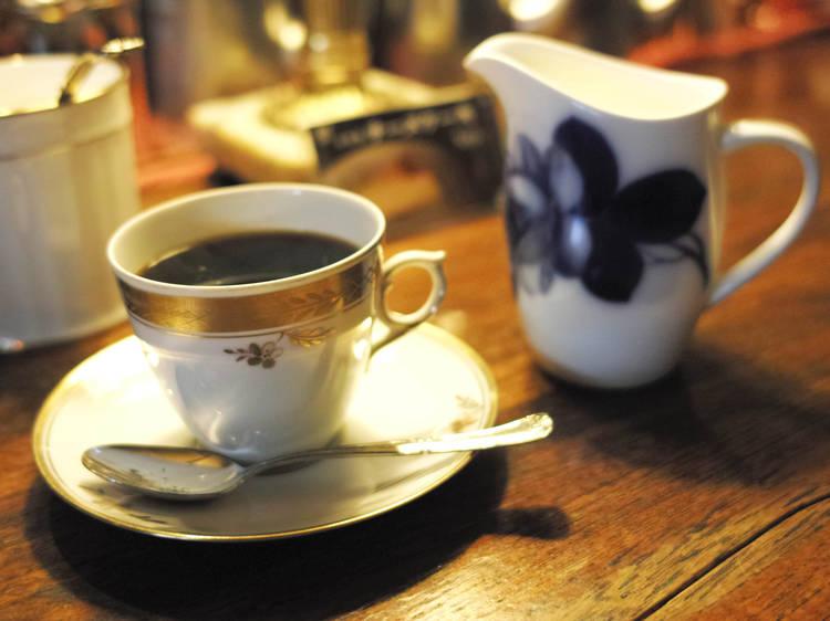 スパイス香るコーヒーが美味