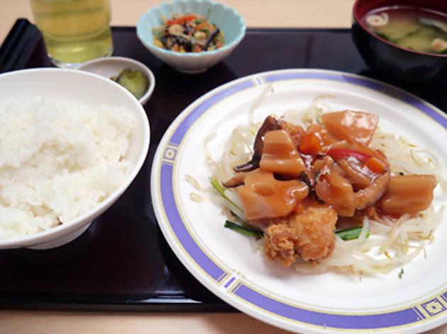 ビアンモール(広尾病院内レストラン)