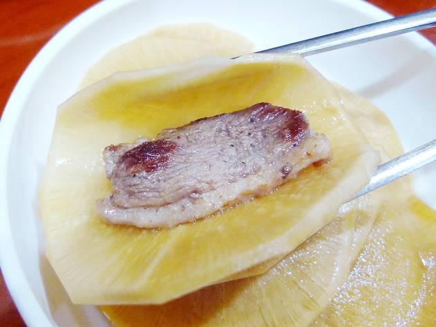 Savour Korean duck