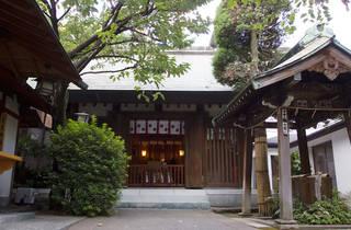 天祖神社(龍土神明宮)