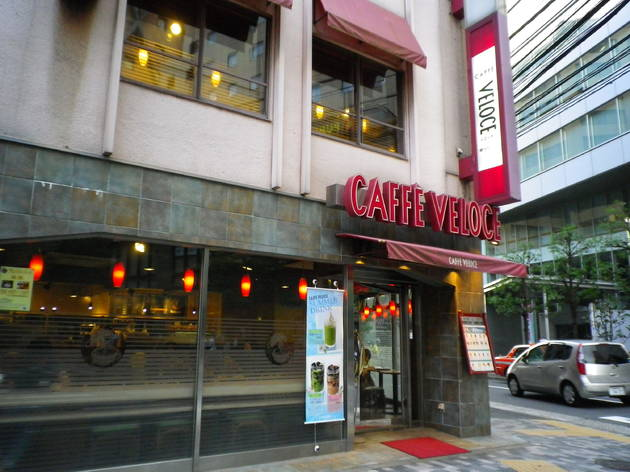 CAFFE VELOCE 渋谷駅新南口店