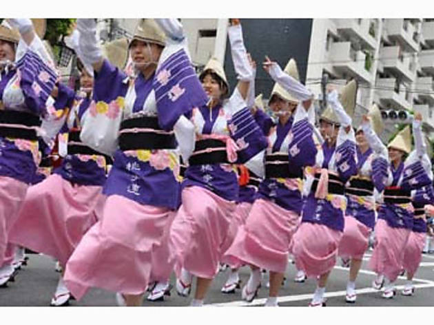 第40回 東京大塚阿波踊り(2012)