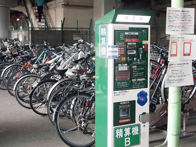 代々木上原駅自転車等駐車場