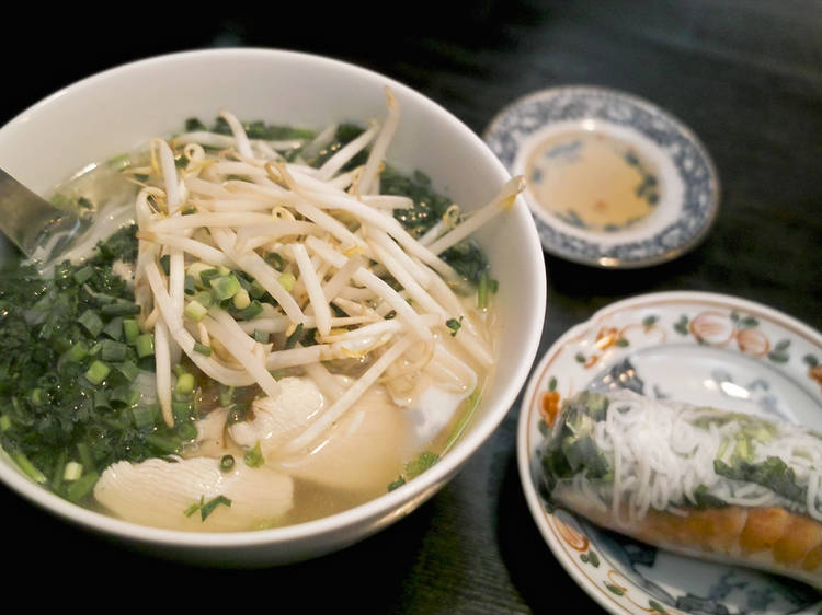 Chow on pho for lunch