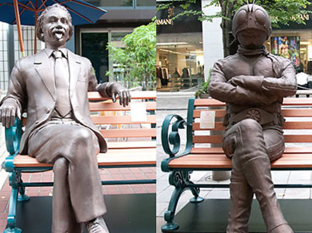 BENCH ART IN MARUNOUCHI 2012