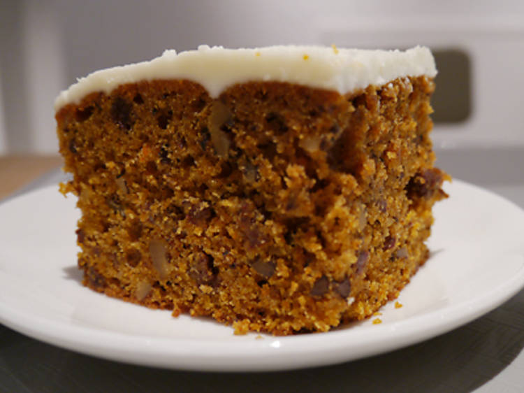 Treat yourself to carrot cake