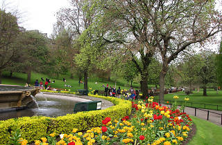 Princes street gardens west fountain