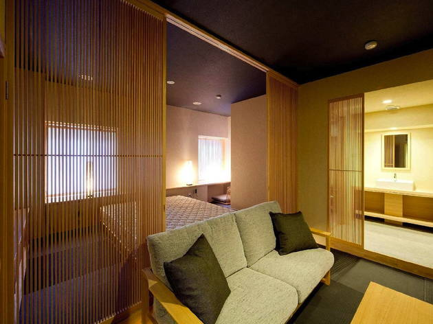 Stay in a Zen hotel suite