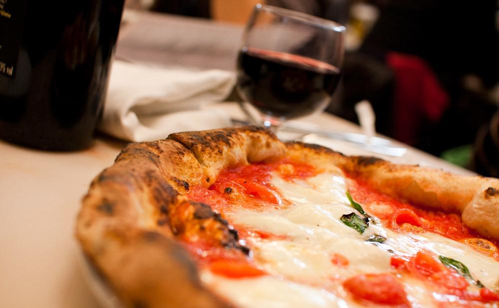 【ピッツァ】Pizzeria e trattoria da ISA