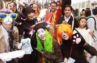神楽坂 化け猫パレード&猫散歩