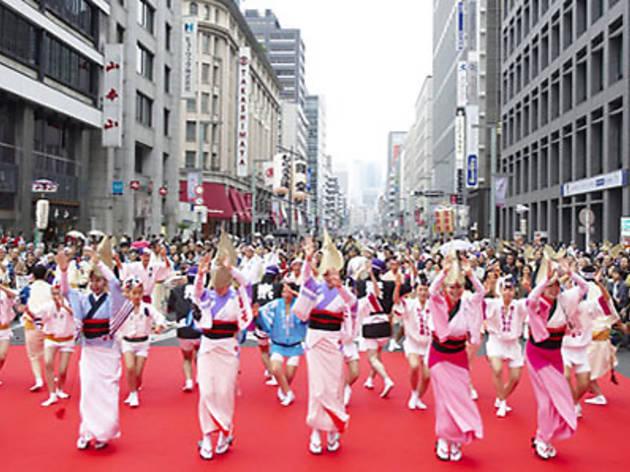 日本橋・京橋まつり 大江戸活粋パレード
