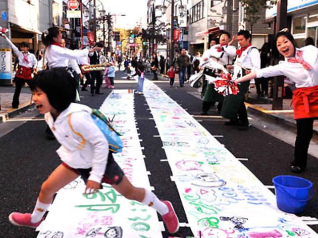 神楽坂まち飛びフェスタ 2012