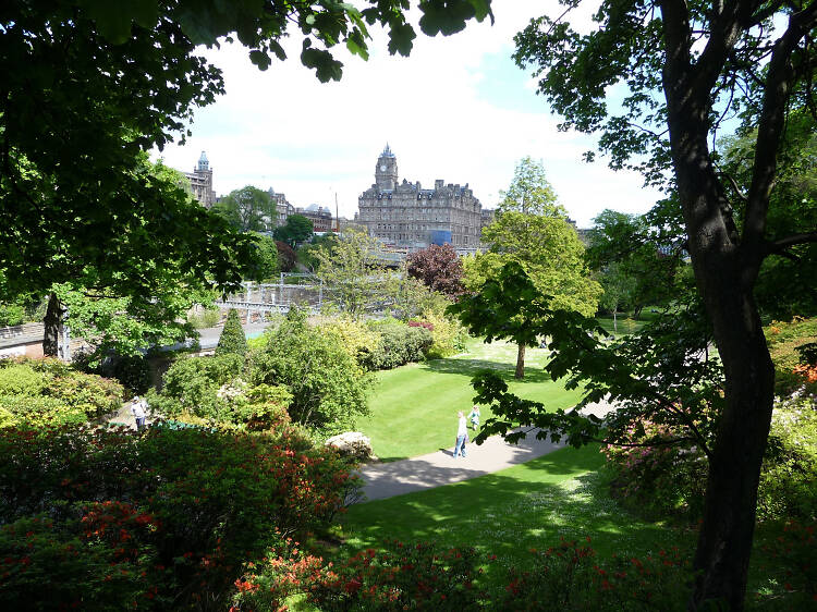 Need some downtime? These are Edinburgh's best parks