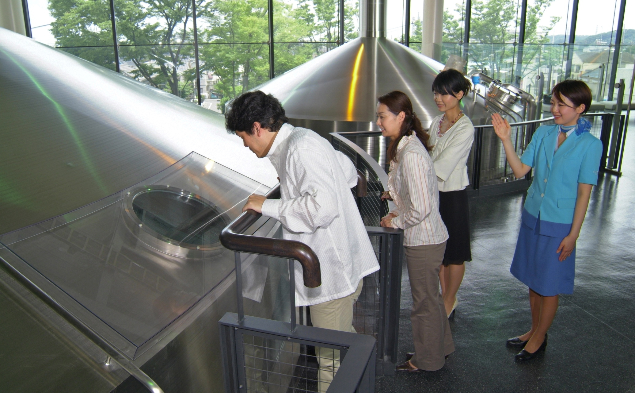 Suntory Musashino brewerty tour