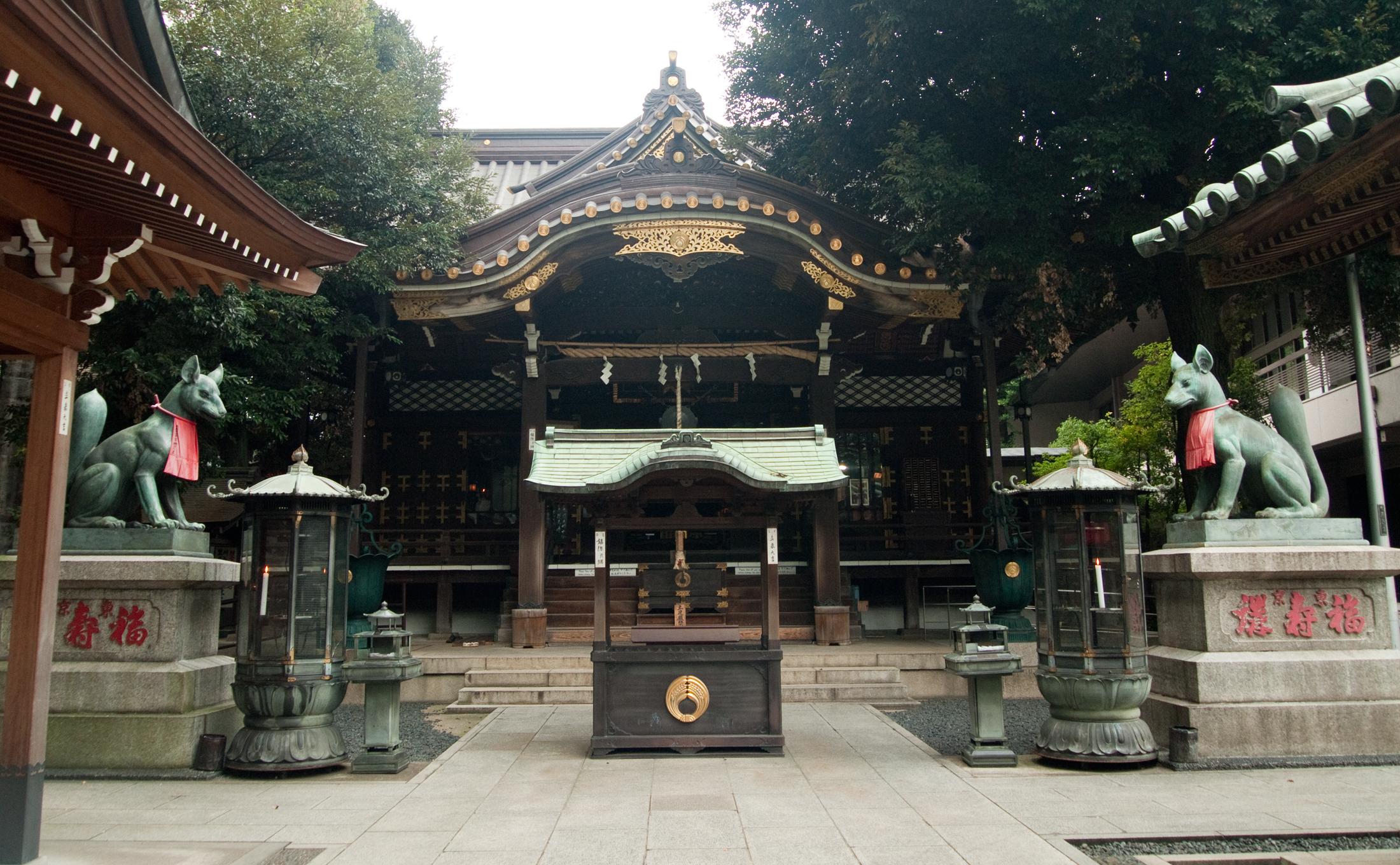 豊川稲荷東京別院 七福神