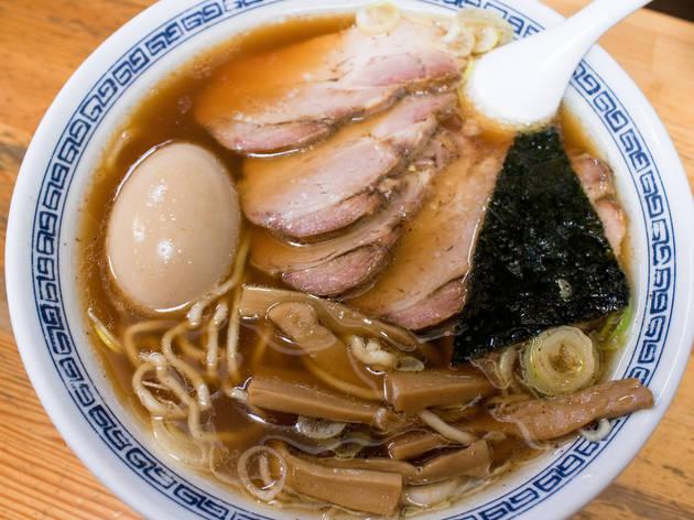 中華そば つけ麺 甲斐