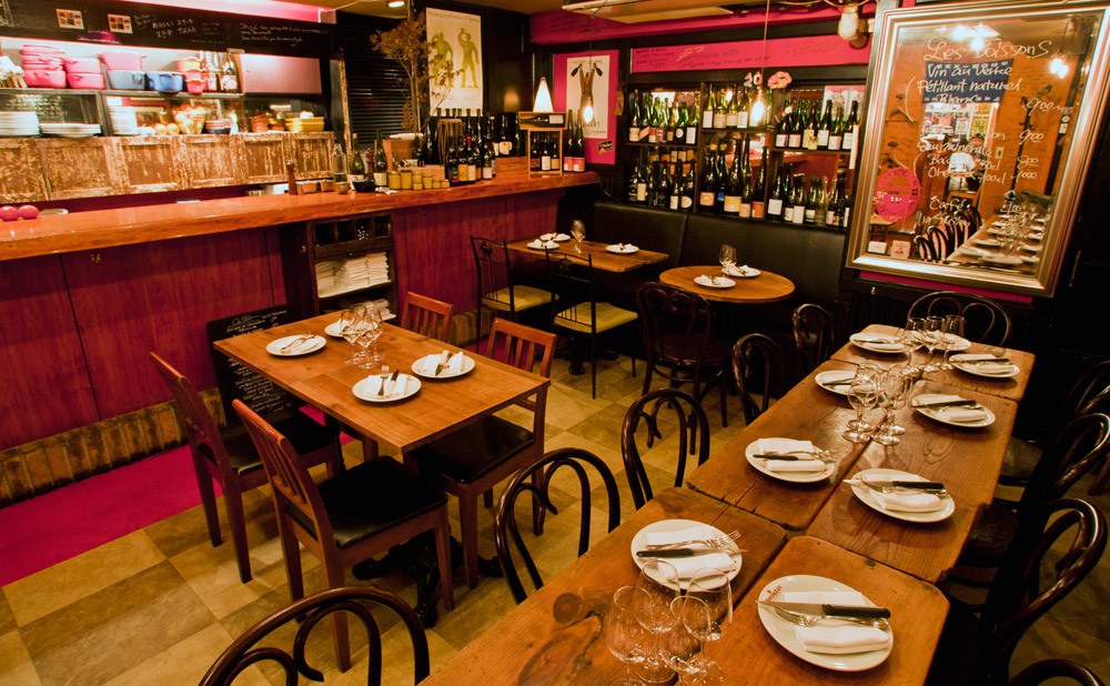 Savour an intimate wine bar