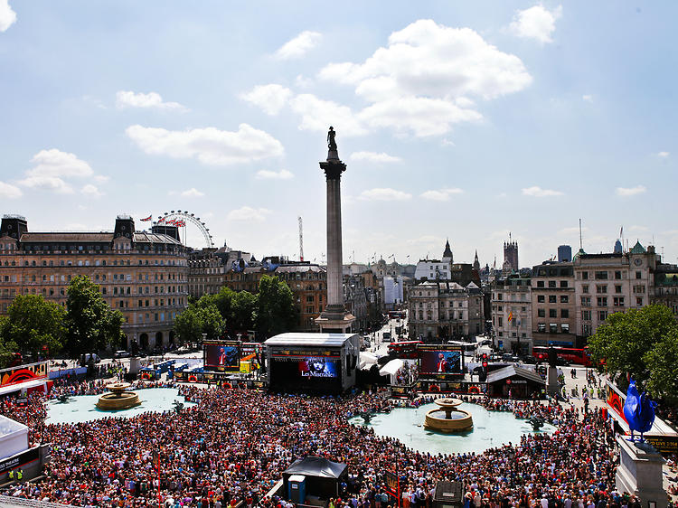 West End Live is filling Trafalgar Square with song all weekend