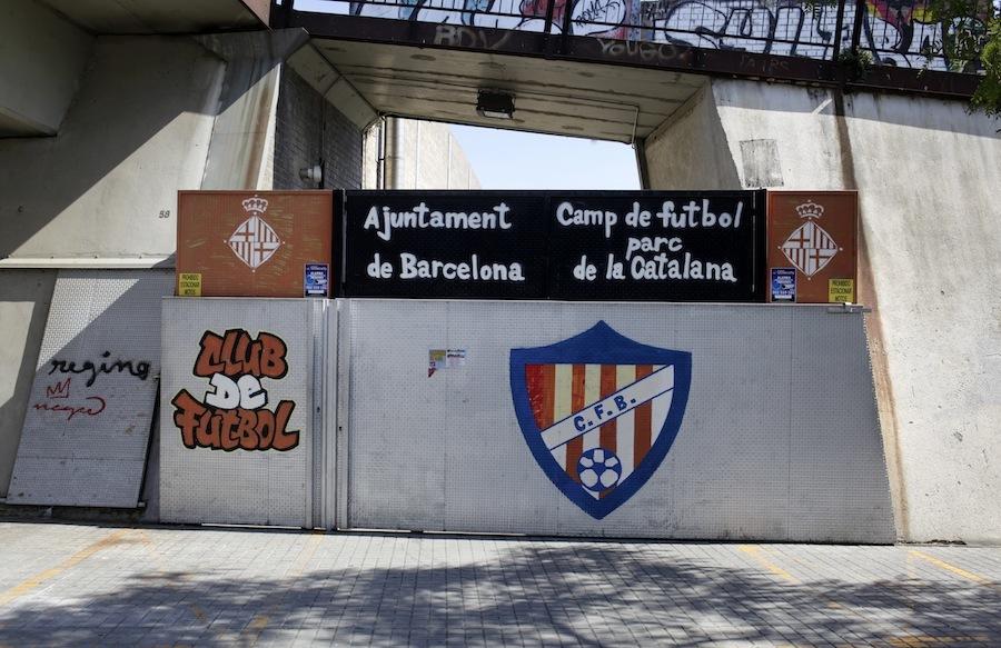 Camp Municipal de Futbol Parc de la Catalana