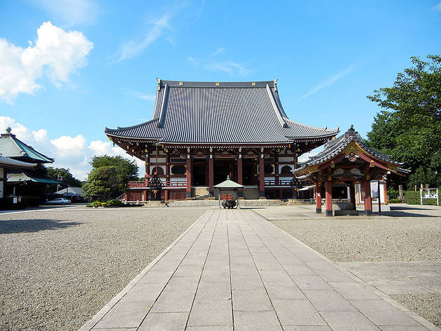 Start your day at Ikegami Honmonji
