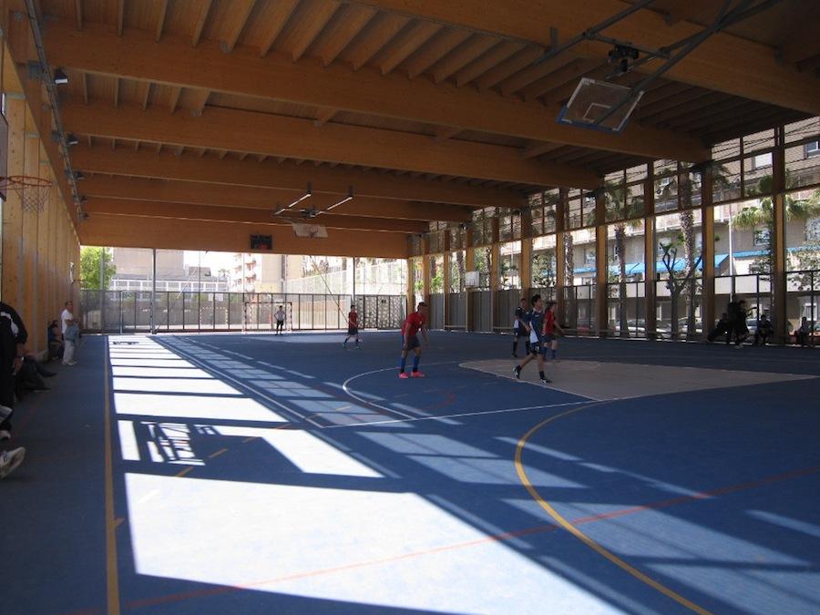 Pista Poliesportiva Parc de la Maquinista