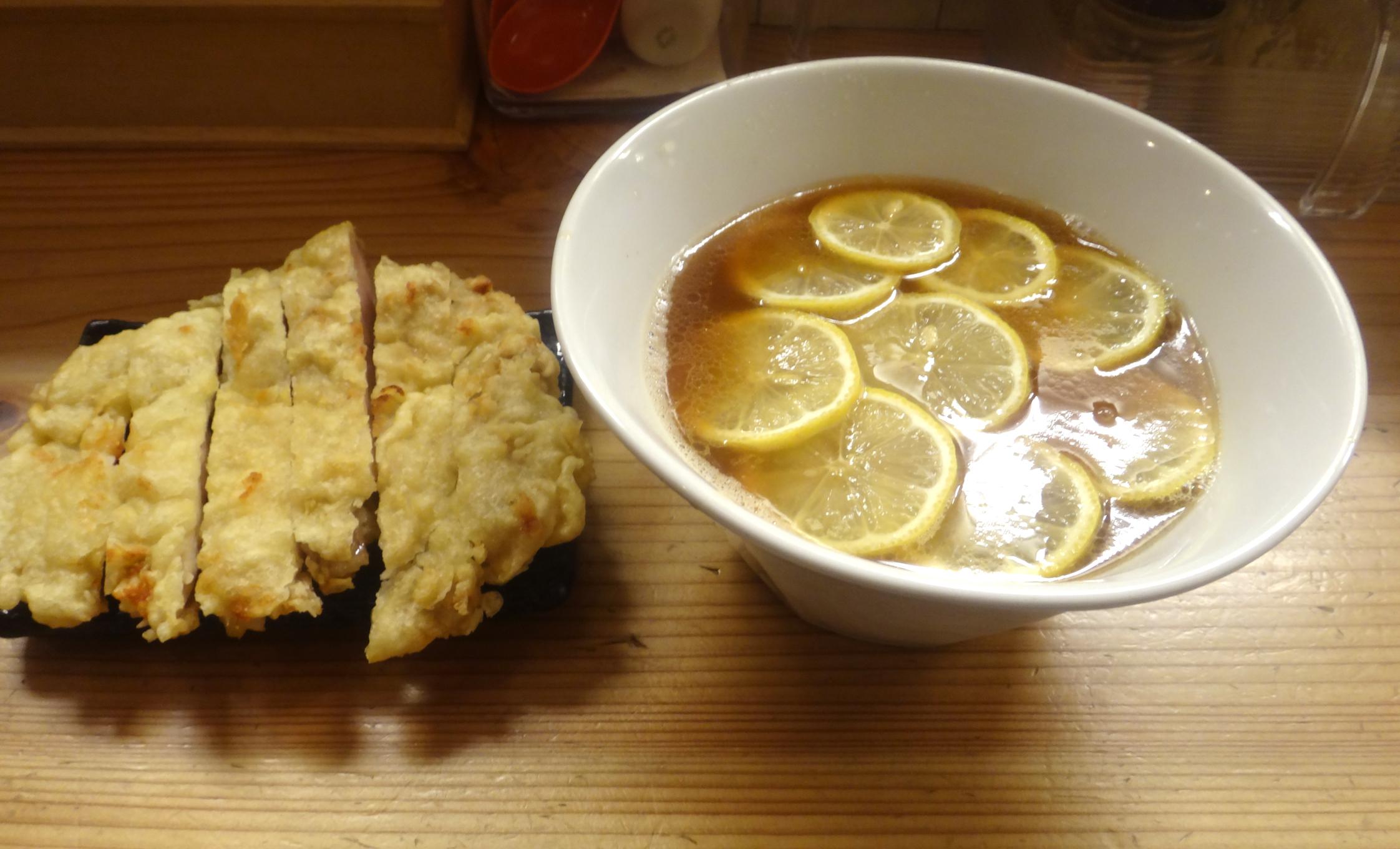 レモン『中華蕎麦 りんすず食堂』
