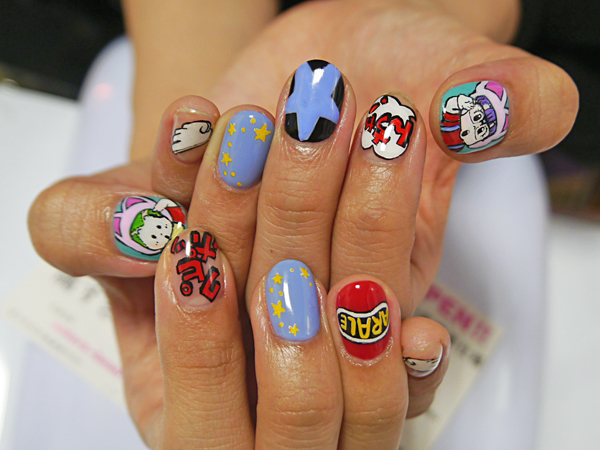 Give yourself an anime manicure…