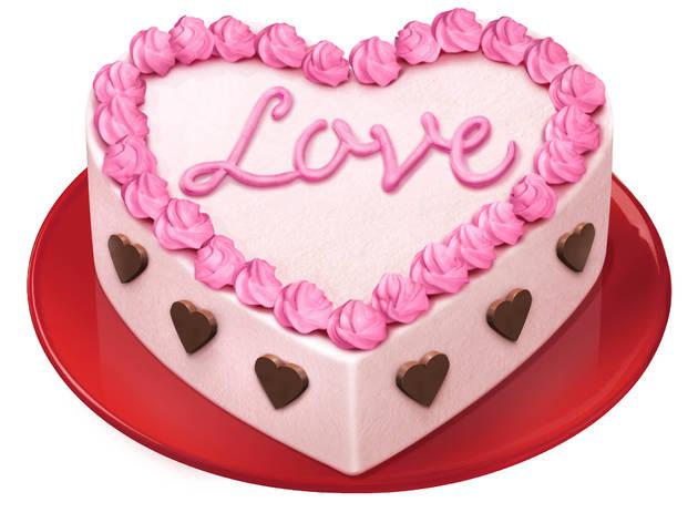 BEN & JERRY'S バレンタイン限定アイスクリームケーキ