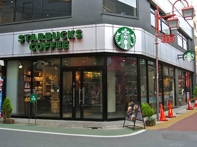 スターバックスコーヒー 自由が丘駅前店