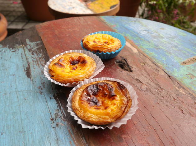 Treat yourself to an egg tart...