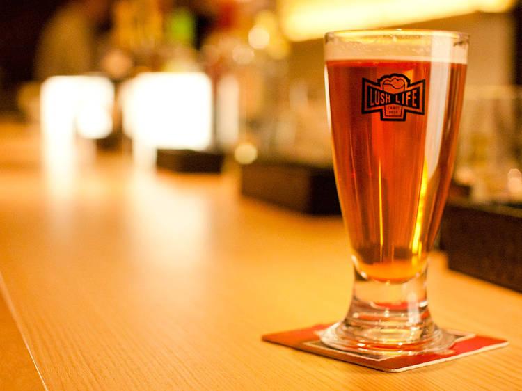 クラフトビールハウス ラッシュライフ