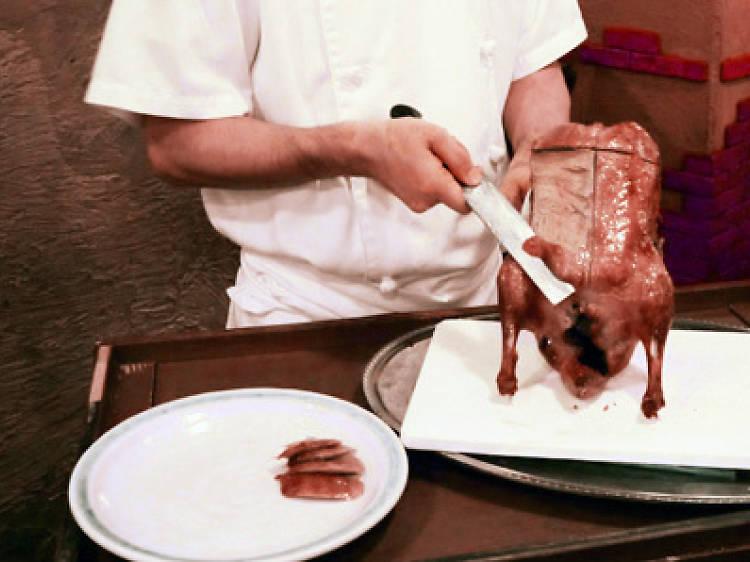 Feast on Peking duck, 24/7