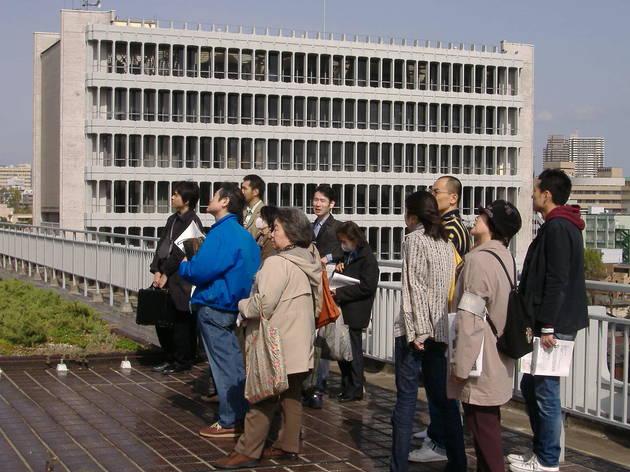 目黒区総合庁舎 建築ガイドツアー