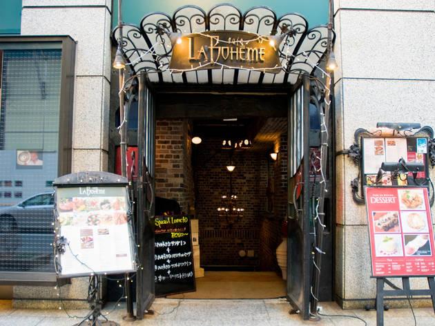 Cafe La Boheme 銀座