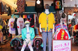 画像は旧渋谷店
