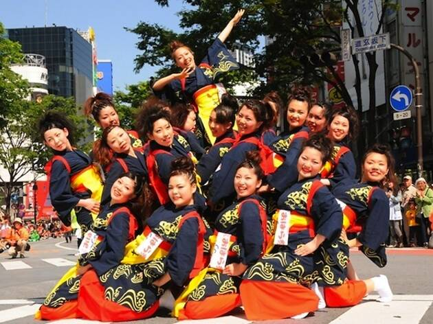第16回 渋谷 鹿児島おはら祭