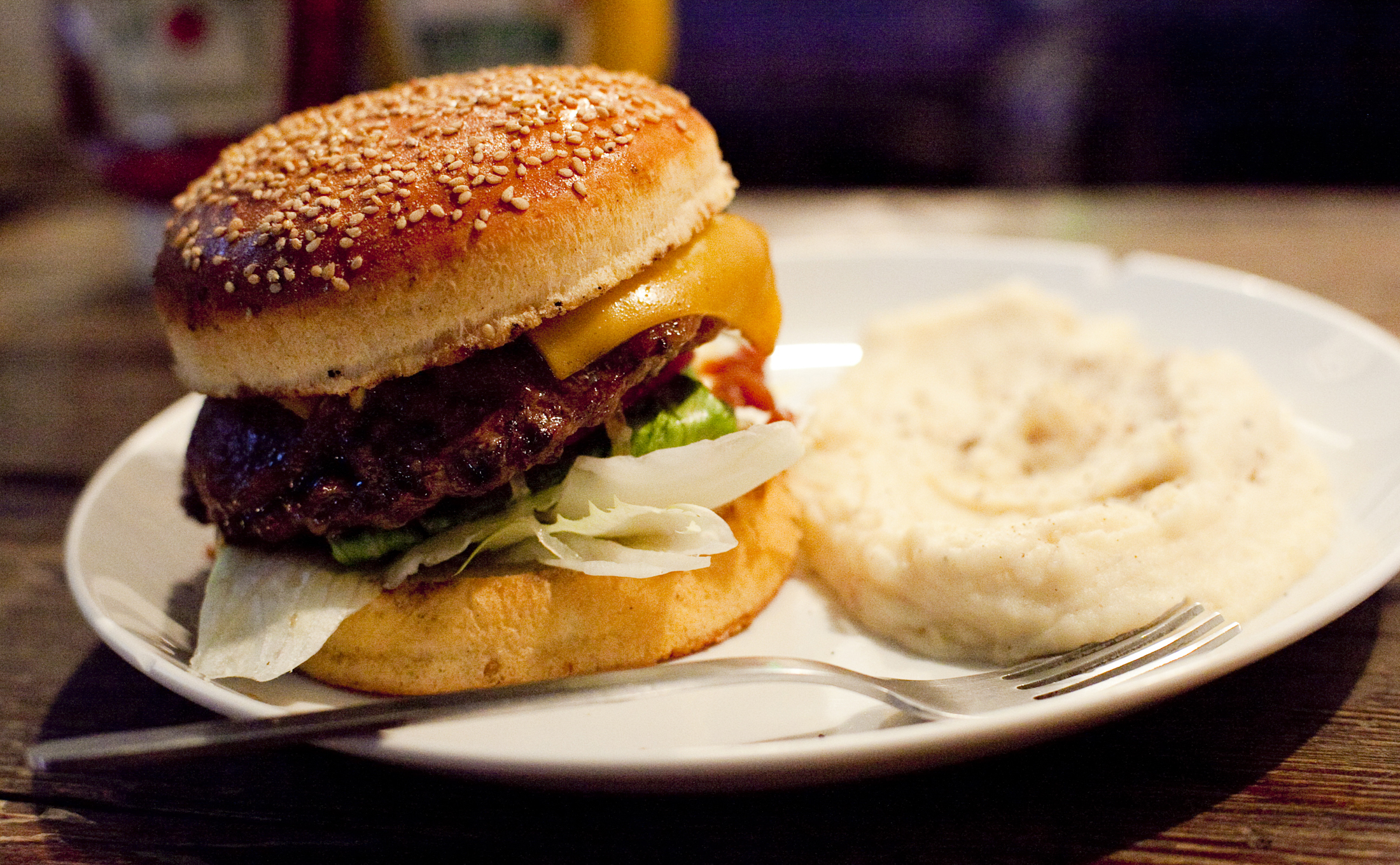 W.P Gold Burger