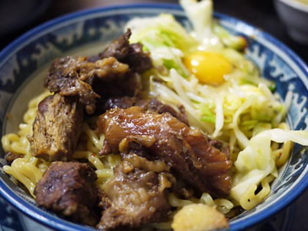 Ramen Shop Nakayoshi: 'Gyu-suji ramen'