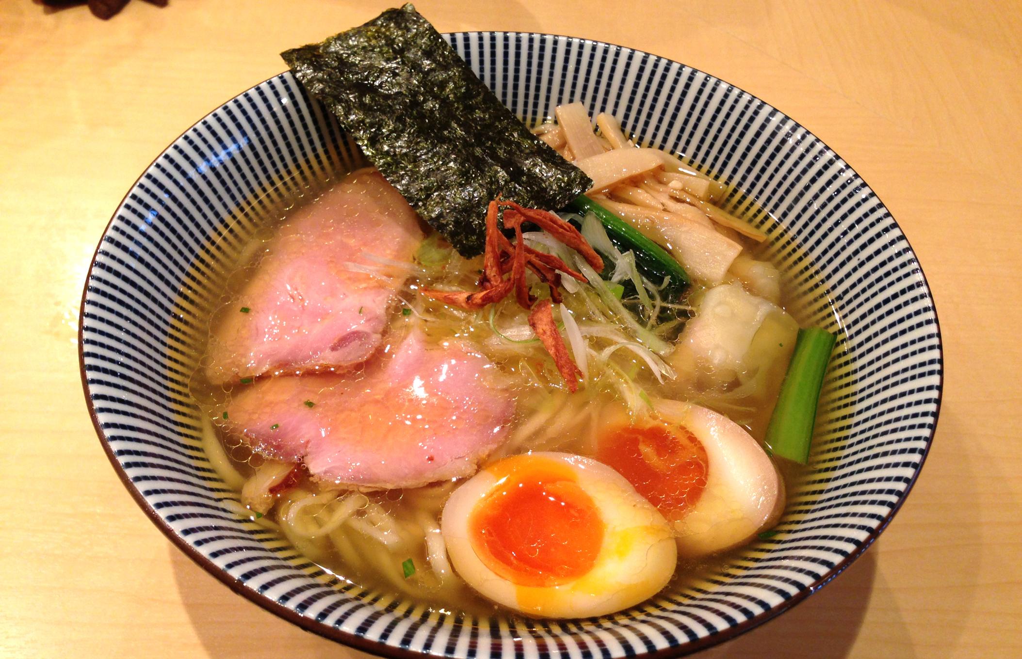 日本料理店出身の店主による至高の一杯