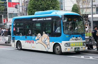 ハチ公バス 乗り場(渋谷駅西口バスターミナル)