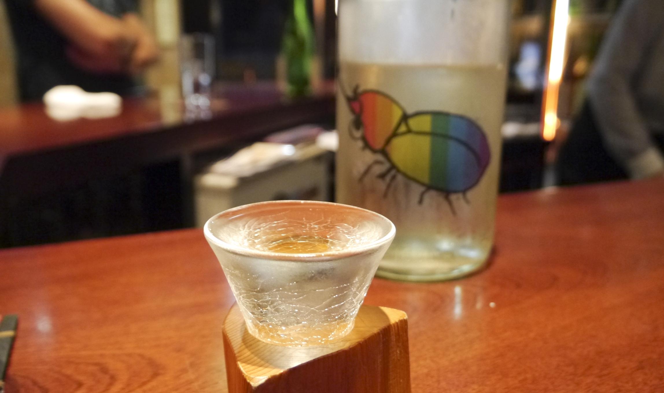 Pair sake with snacks