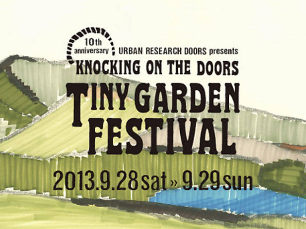 KNOCKING ON THE DOORS TINY GARDEN FESTIVAL