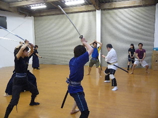殺陣体験 志道塾