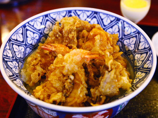 Go back in time with tempura